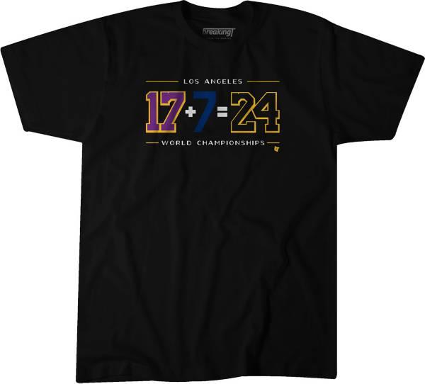 BreakingT Men's L.A. 24 Black T-Shirt product image