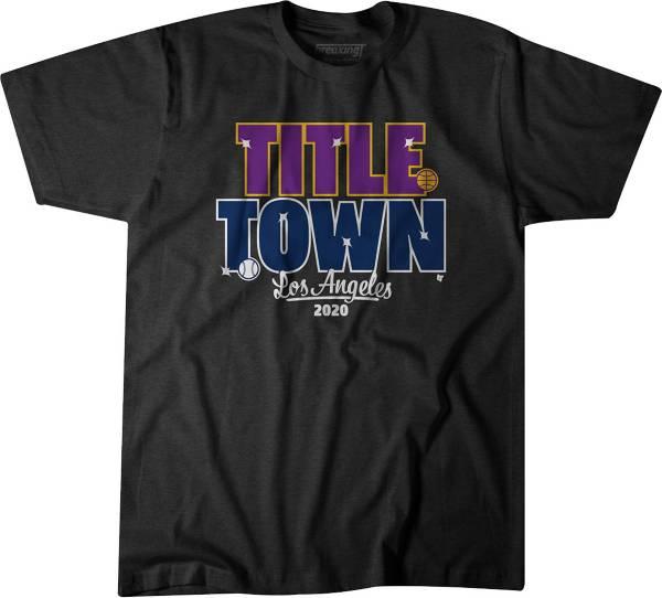 BreakingT Men's Title Town Black T-Shirt product image