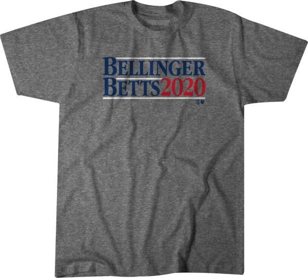 BreakingT Men's Gray 'Bellinger Betts 2020' T-Shirt product image