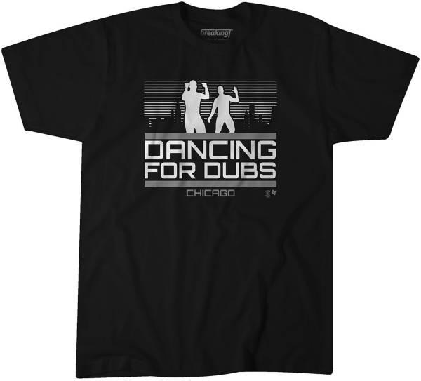 BreakingT Men's Dancing For Dubs Black T-Shirt product image