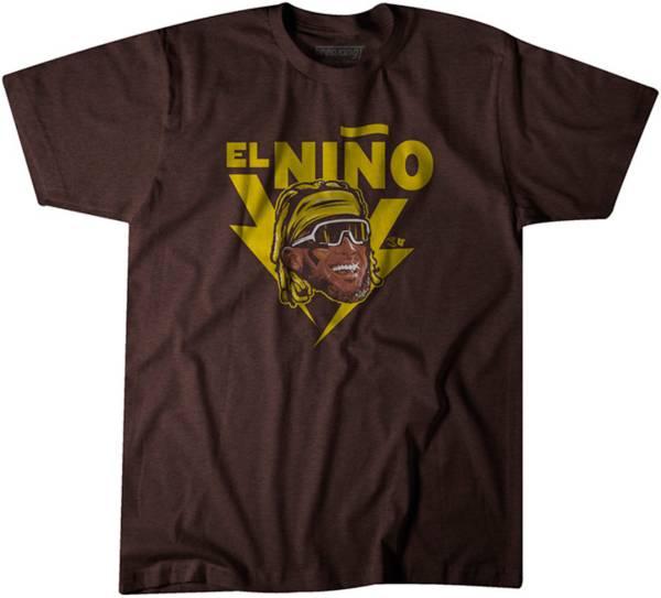 BreakingT Men's Brown El Nino T-Shirt product image