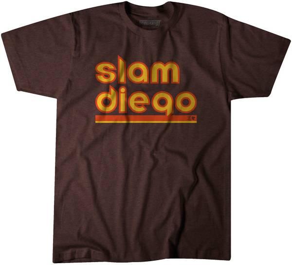 """BreakingT Men's """"Slam Diego"""" Brown T-Shirt product image"""