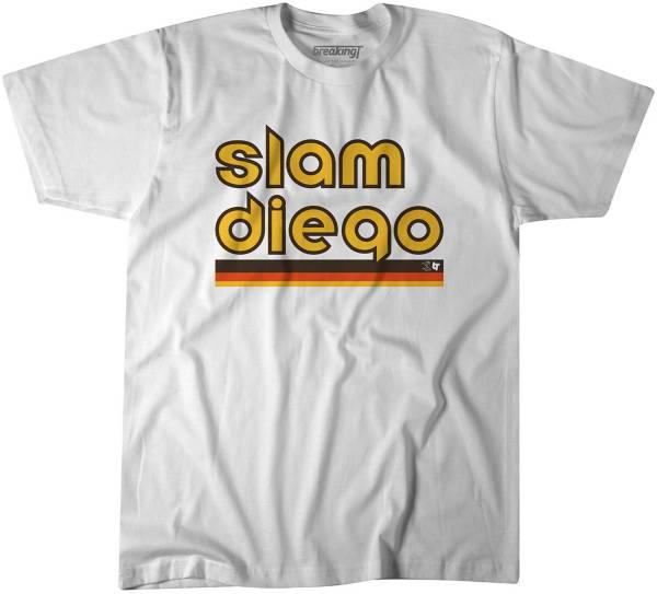 "BreakingT Men's ""Slam Diego"" White T-Shirt product image"