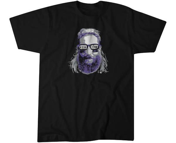 BreakingT Men's 'Chuck Nasty' Black T-Shirt product image