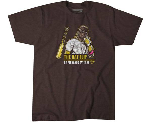 BreakingT Men's The Bat Flip T-Shirt product image