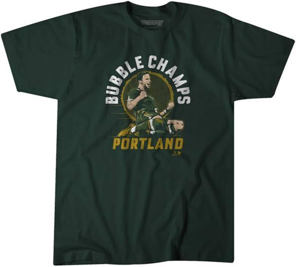 BreakingT Men's Portland Bubble Champs Green T-Shirt product image