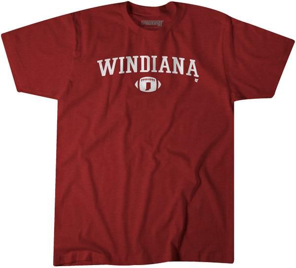 BreakingT Men's Windiana Crimson T-Shirt product image