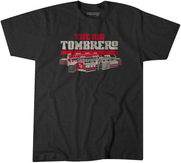 BreakingT Men's Big Tombrero Charcoal T-Shirt product image