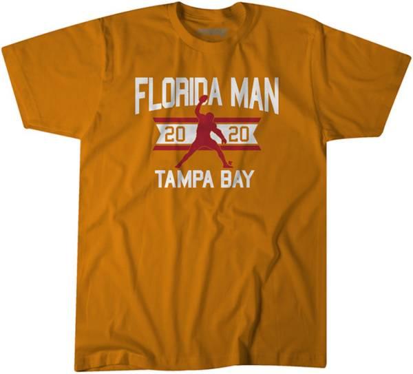 BreakingT Men's Florida Man Tampa Bay Orange T-Shirt product image