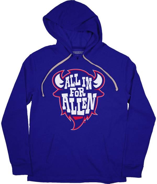 BreakingT Men's 'All In Allen' Royal Pullover Hoodie product image