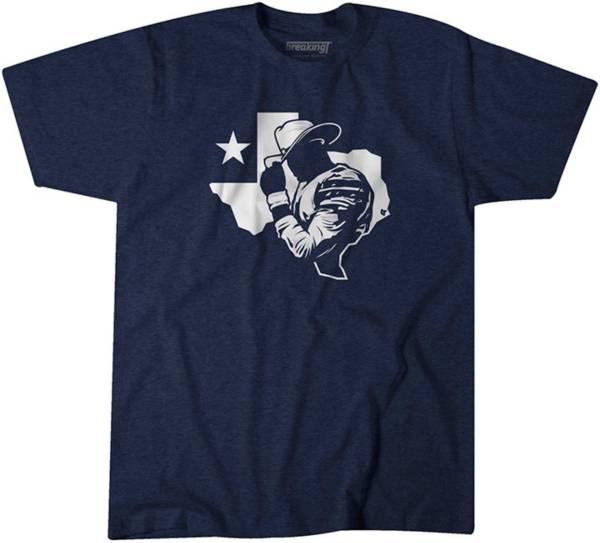 BreakingT Men's Cowboys QB Dak Navy T-Shirt product image