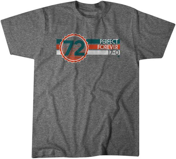 BreakingT Men's Miami 'Perfect Forever' Grey T-Shirt product image