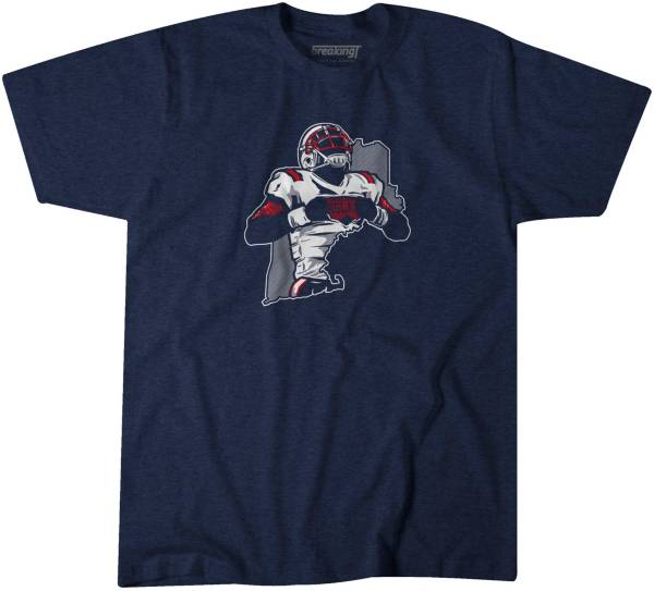 BreakingT Men's NE QB Cam Navy T-Shirt product image