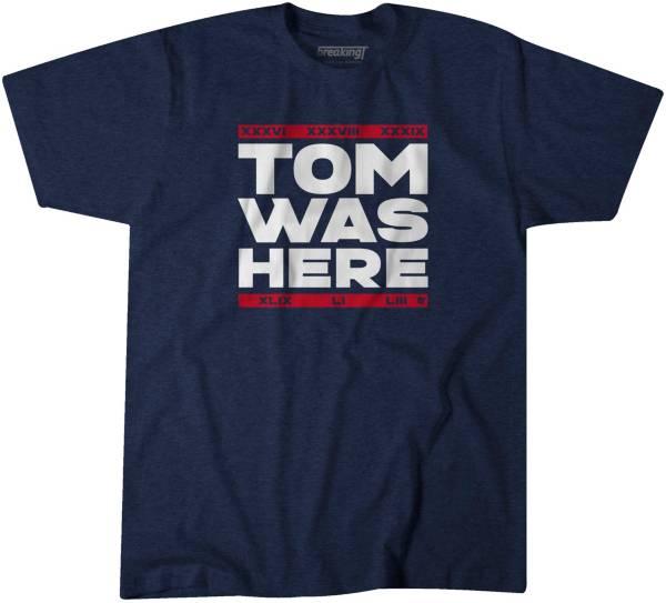 BreakingT Men's Tom Was Here Navy T-Shirt product image
