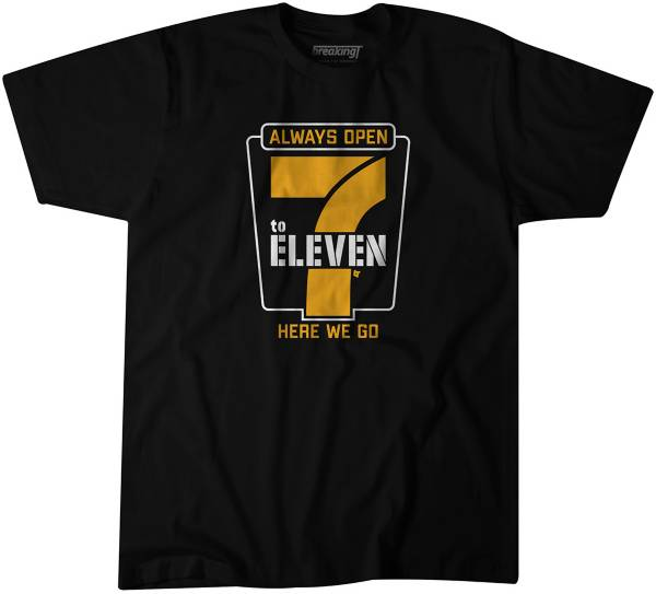 BreakingT Men's 7 to 11 Black T-Shirt product image