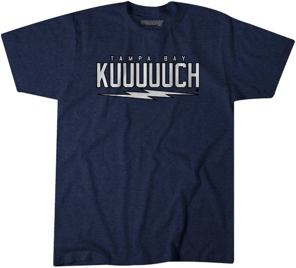 BreakingT Men's Tampa Bay Kuuuuuch Blue T-Shirt product image