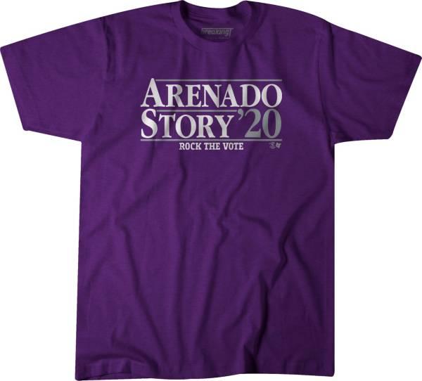 BreakingT Men's 'Arenado & Story 2020' Purple T-Shirt product image