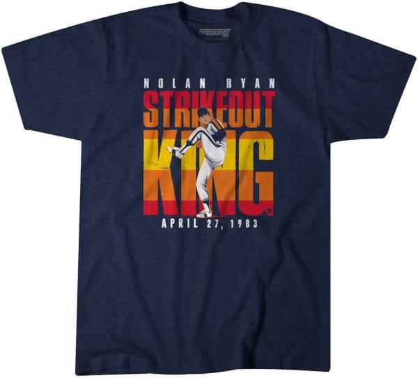 BreakingT Men's 'Strike Out King' Nolan Ryan Navy T-Shirt product image