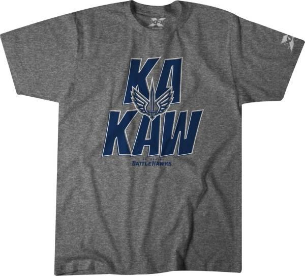 BreakingT Men's St. Louis BattleHawks Ka Kaw Grey T-Shirt product image