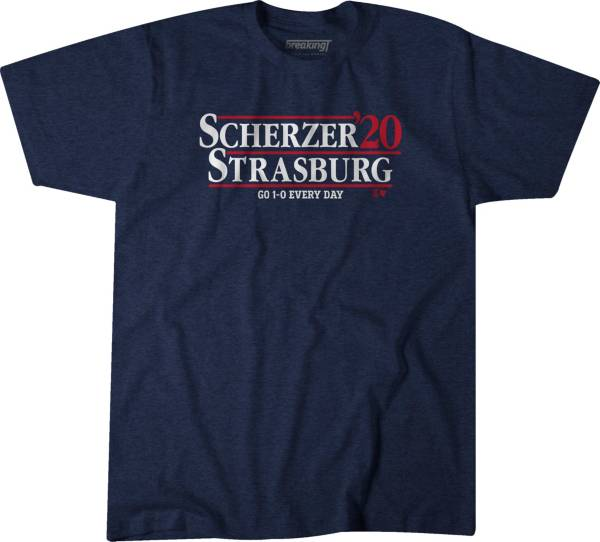BreakingT Men's 'Scherzer & Strasburg 2020' Navy T-Shirt product image