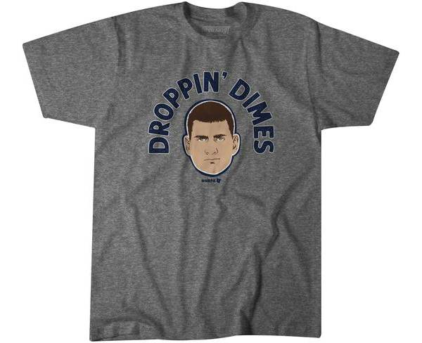 BreakingT Youth Droppin' Dimes Grey T-Shirt product image