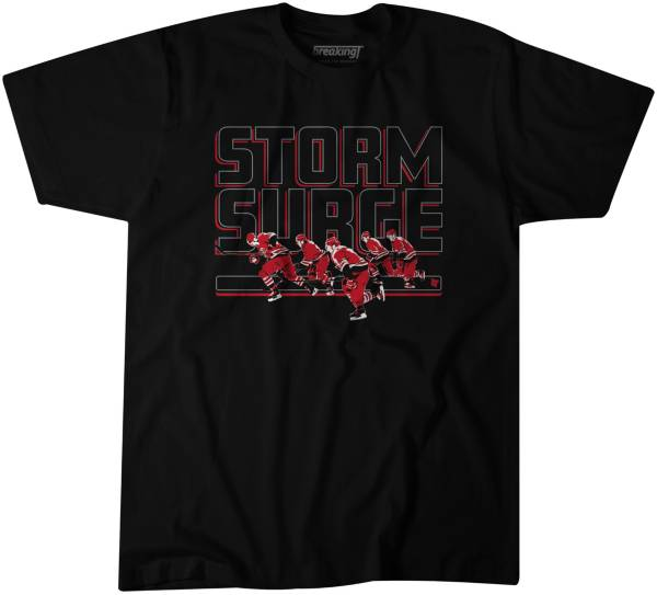 BreakingT Youth Carolina Hurricanes Storm Surge Black T-Shirt product image