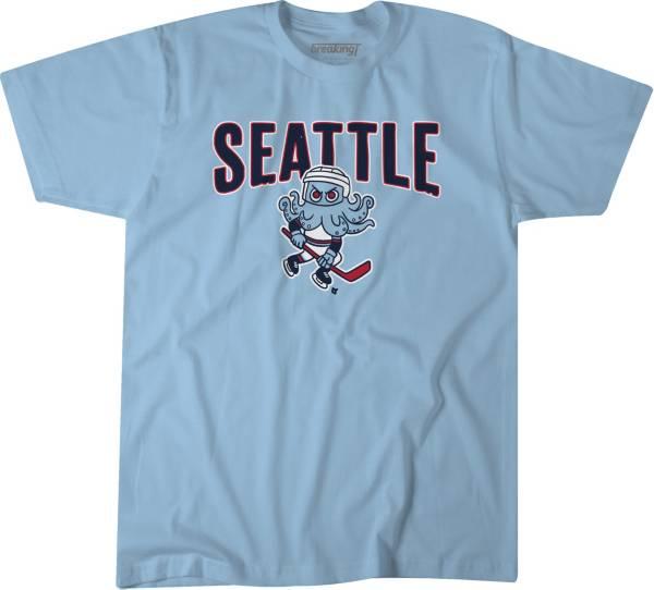 BreakingT Youth Seattle Kraken Teal T-Shirt product image