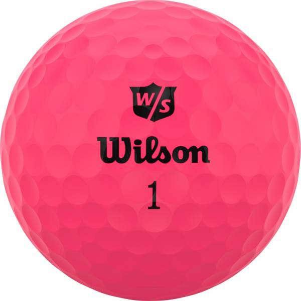 Wilson Staff 2020 Duo Soft Optix Pink Personalized Golf Balls product image