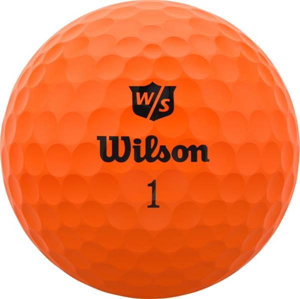 Wilson Staff 2020 Duo Soft Optix Orange Personalized Golf Balls product image