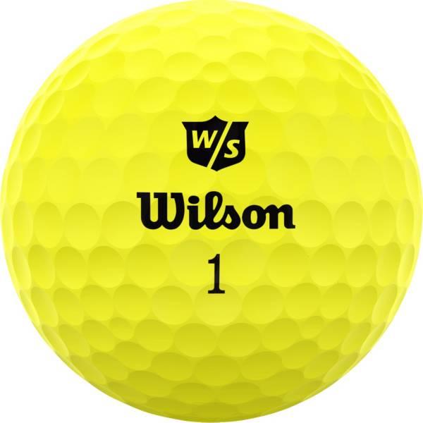 Wilson Staff 2020 Duo Soft Optix Yellow Personalized Golf Balls product image
