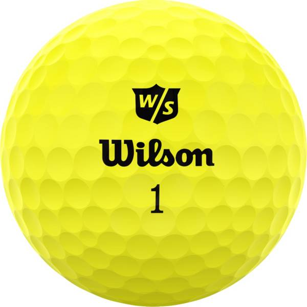 Wilson Staff 2020 Duo Soft Optix Yellow Golf Balls product image
