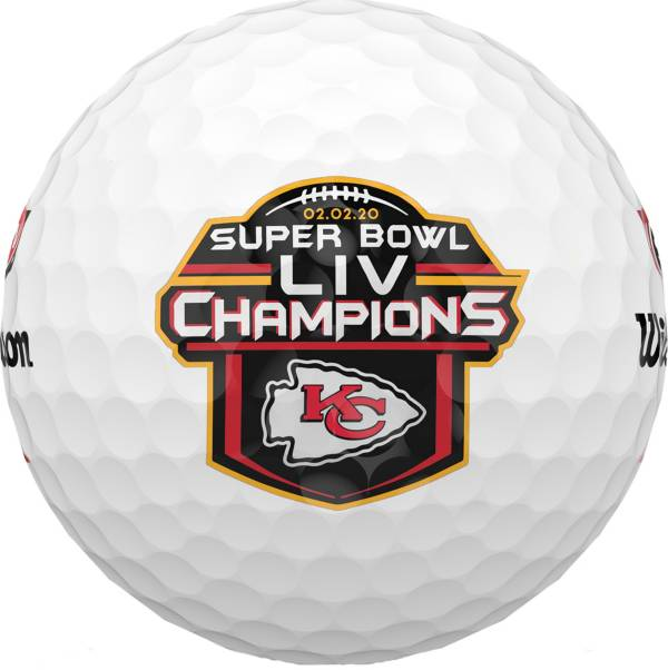 Wilson Staff 2020 Duo Soft+ Golf Balls – Super Bowl LIV Champions Kansas City Chiefs Limited Edition product image