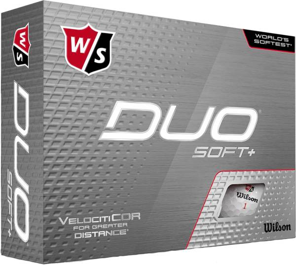 Wilson Staff 2020 Duo Soft+ Personalized Golf Balls product image