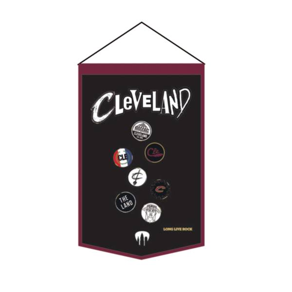 Winning Streak Sports 2020-21 City Edition Cleveland Cavaliers Premium Banner product image