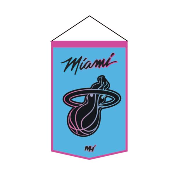 Winning Streak Sports 2020-21 City Edition Miami Heat Premium Banner product image