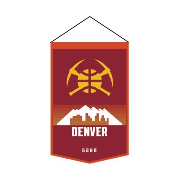 Winning Streak Sports 2020-21 City Edition Denver Nuggets Premium Banner product image
