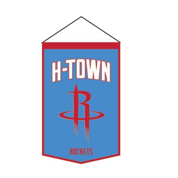 Winning Streak Sports 2020-21 City Edition Houston Rockets Premium Banner product image