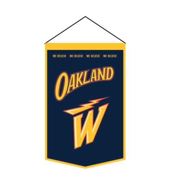 Winning Streak Sports 2020-21 City Edition Golden State Warriors Premium Banner product image