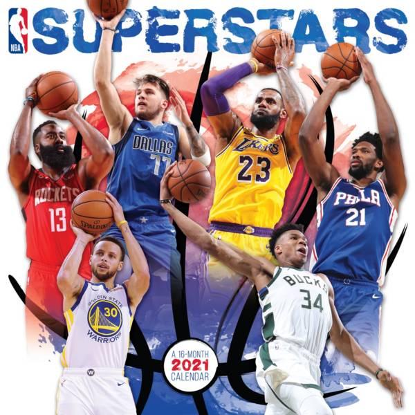Trends International NBA Superstars 2021 Calendar product image