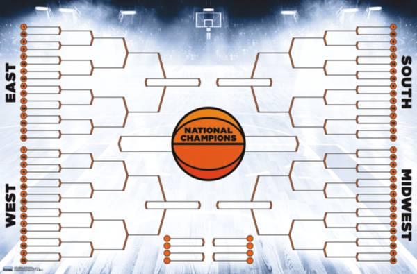 Trends International 2020 Men's College Basketball Tournament Bracket product image