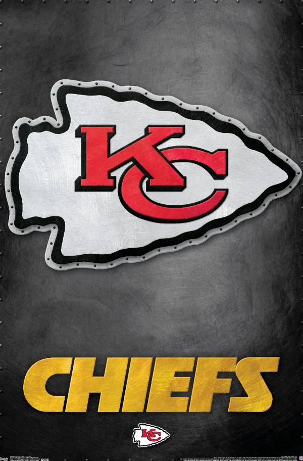Trends International Kansas City Chiefs Logo Poster product image