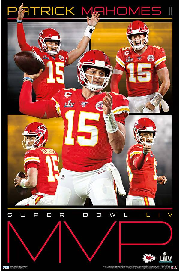 Trends International Kansas City Chiefs Patrick Mahomes MVP Poster product image