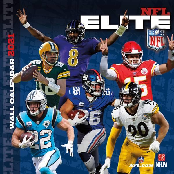 Trends International NFL Elite 2021 Calendar product image
