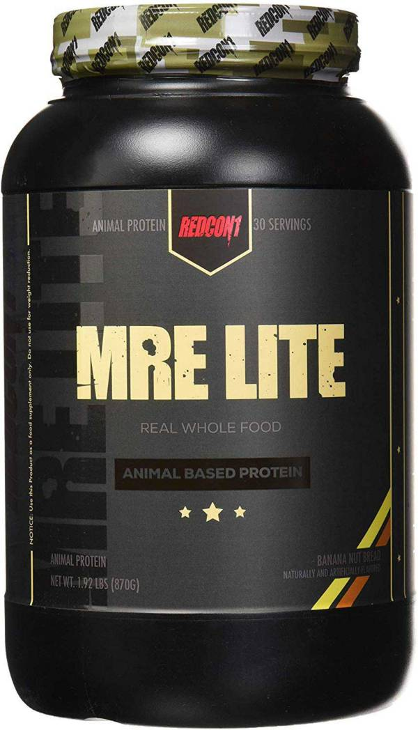 Redcon1 MRE Lite Animal Based Protein Banana Nut Bread 30 Servings product image