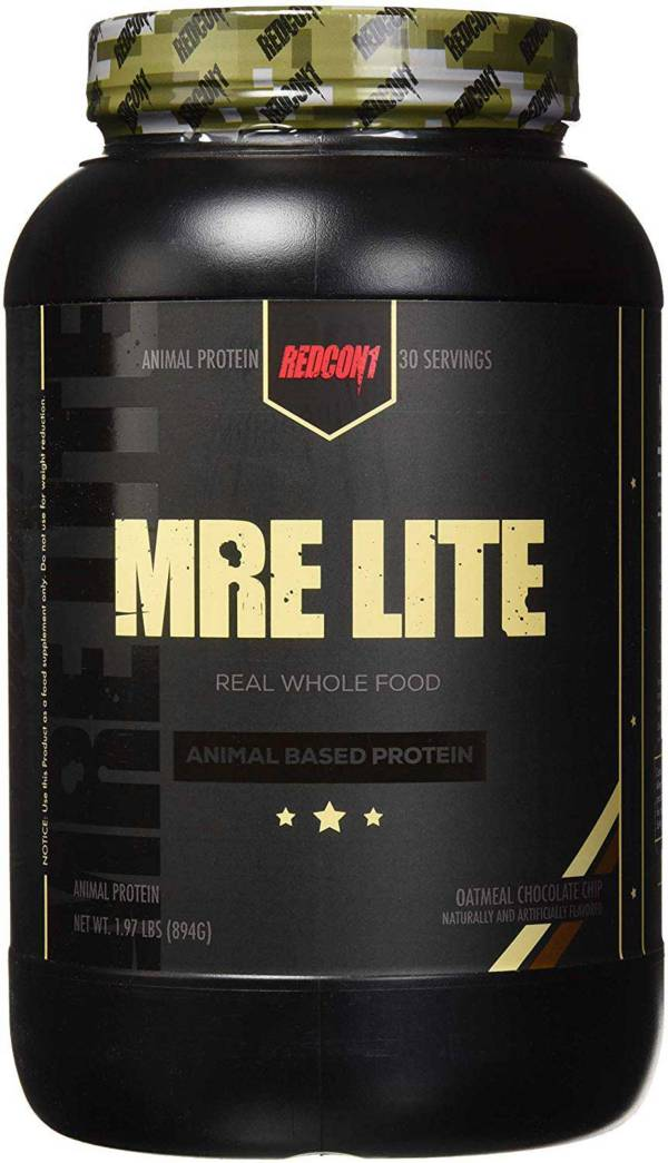 Redcon1 MRE Lite Animal Based Protein Oatmeal Chocolate Chip 30 Servings product image