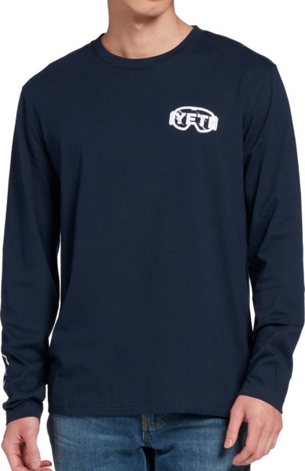 YETI Men's Boarding Bear Long Sleeve T-Shirt product image