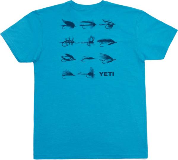 YETI Men's Fly Lures T-Shirt product image