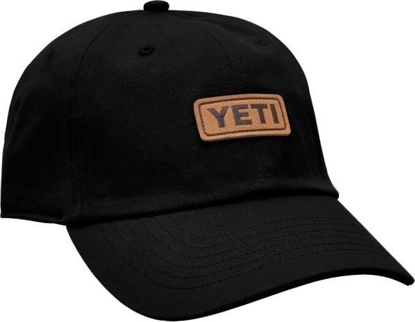 Yeti Adult Leather Badge Logo Hat product image