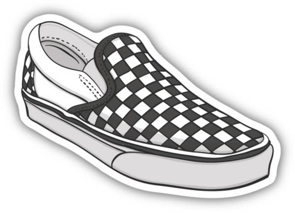 Stickers Northwest Check Shoe Sticker product image
