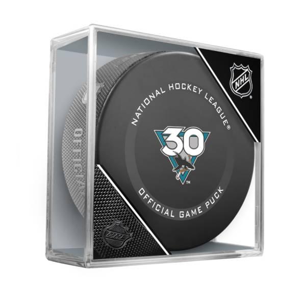 Inglasco Inc. San Jose Sharks 2021 Official Game Puck product image